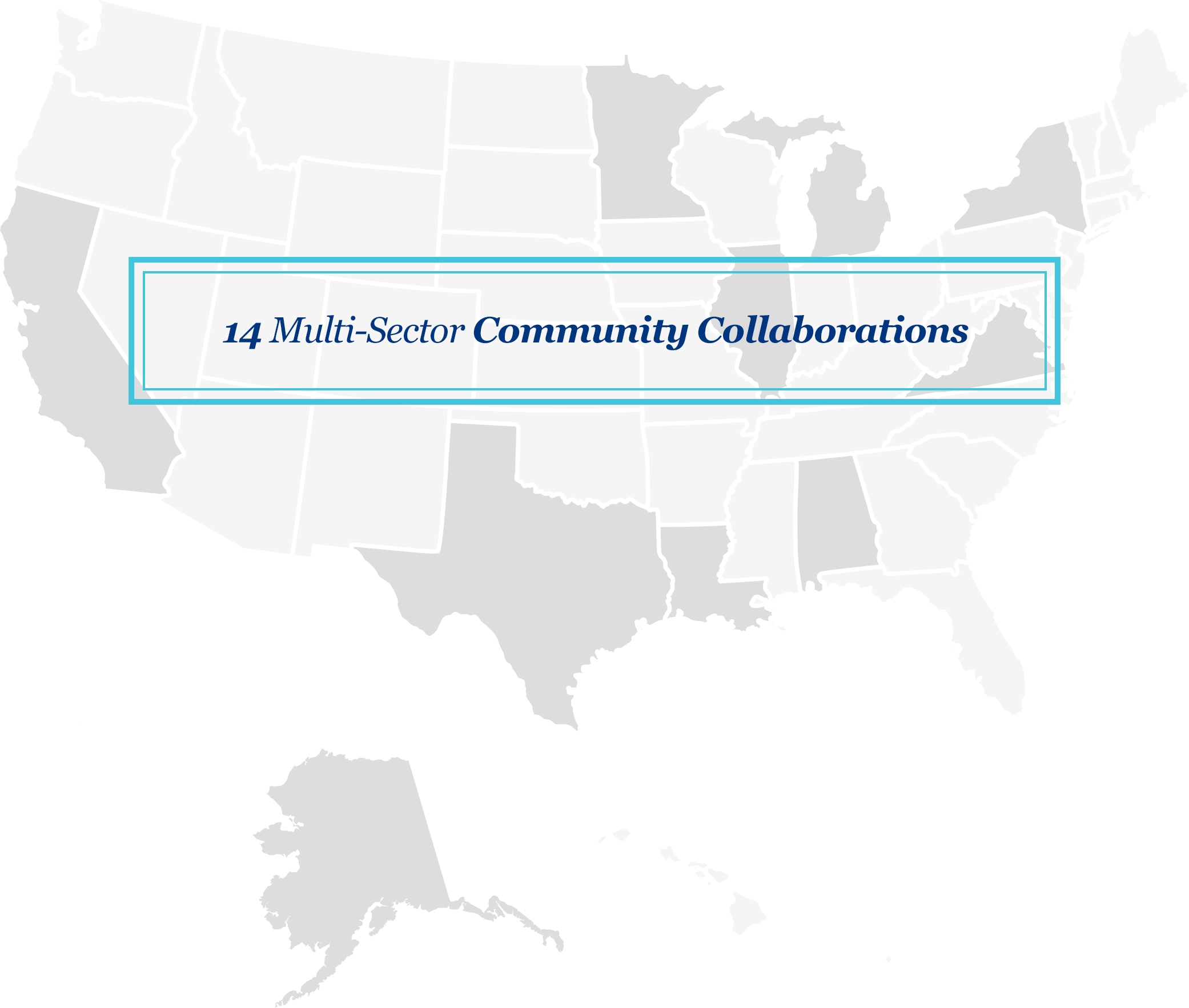 10 Grantees from 14 Communities
